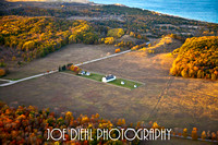 D. H. Day Farm in Fall from Above